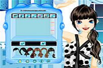 Dot Pattern Dressup Game