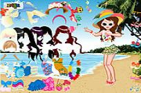 Play Beach Fashion Dresses game