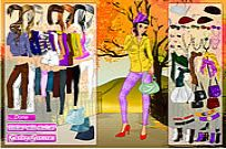 Play Autumn In The Park Dress Up game