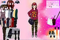 Play Korean Girl Dress Up game