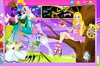 Play Magic Girl Dressup game