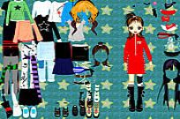 Play Party Doll Dressup game