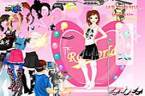 Play Roiworld Rockstar Dressup game