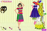 Play Full Of Color Dressup game