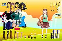 Play Summer Beauty Dressup game
