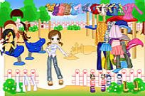 Play Fashion Doll Dressup game