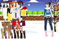 Play Hot Snow Boots game