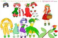 Play Fruit Doll Dressup game