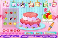 Play Fruit Strawberry Cake game