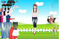 Play Shirts And Jeans Dress Up game