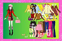 Play Colorful Fashion Dressup game