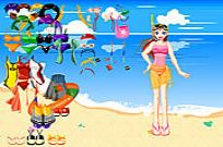 Play Beach Wear Dressup game