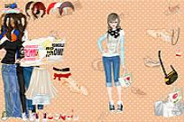 Play Bags And Sneakers Dress Up game