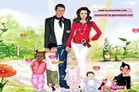Play Angelina And Brad Dressup game