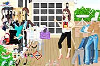 Play Terrace Dressup game