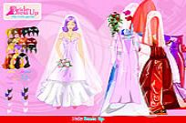 Play Bride Dressup game