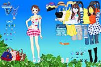 Play Spring Leaves Dressup game
