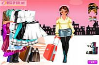 Play Full-figured Lady Dressup game