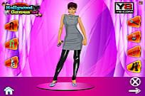Play Victoria Beckham Dress Up game