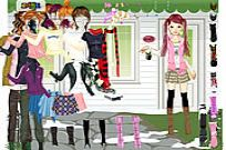 Play Tiffany Dressup game