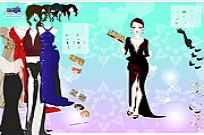 Play Gown Purse Dress Up game
