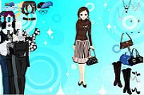 Play Black And White Dressup game