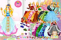 Play Princess Gown Dressup game