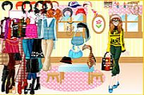 Play Unique Fashion Dress Up game