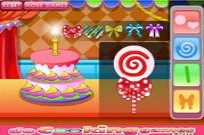 Play Sweet Lollipop Cake game
