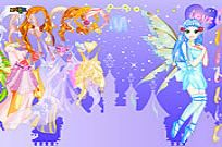 Play Purply Fairy Dressup game