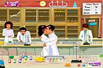 Play Chemistry Lab Kissing game