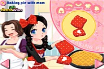 Play Pie Baking With Mom game