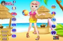 Play Seaside Holiday Dress Up game