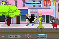 Play Johnny Bravo's Flirts game