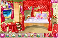 Play Barbie Wedding Room game