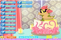 Play Lovely Wedding Cake game