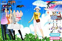 spielen Rainy Days Dress Up Spiel