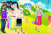 Play House In Field Dress Up game