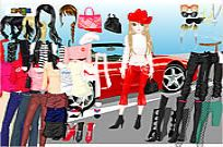 Play Ferrari Dress Up 4 game