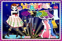 Play Kim Dancer Dressup game