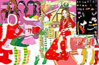 Play Christmas Charlotte Dressup game