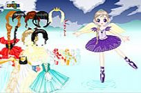 Play Ballerina Princess Maker game