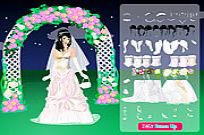 Play Night Bride Dressup game