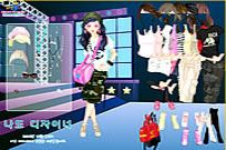 Play Top Model Dress Up game