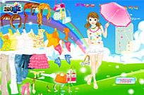 Play Spring Umbrella game