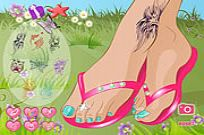 Play Summer Sandals game