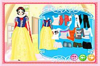 spielen Snow White Dress Up Spiel