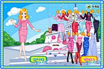 Play Stewardess Dressup game