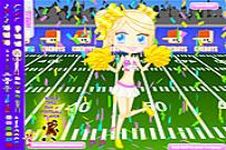 Play Football Cheerleader game