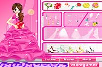 Play Glamour Bride Dress Up game
